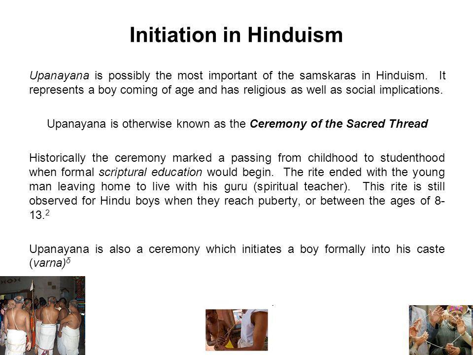 Initiation in Hinduism