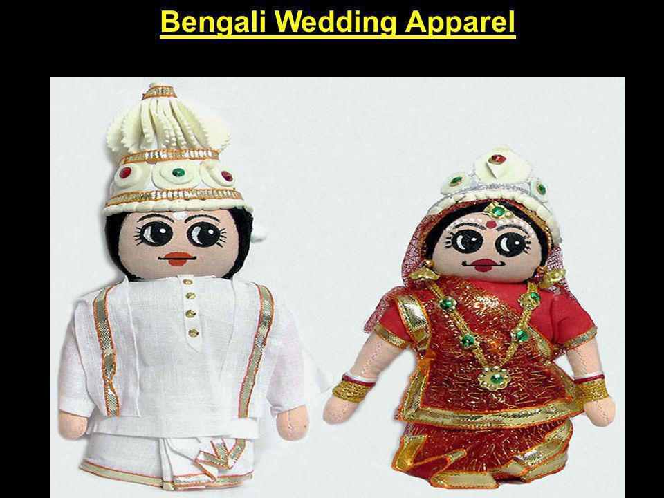 Bengali Wedding Apparel