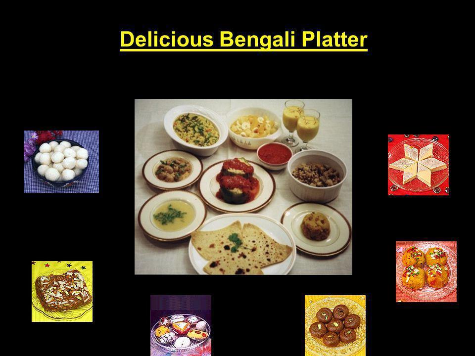 Delicious Bengali Platter