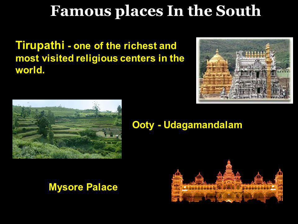 Famous places In the South