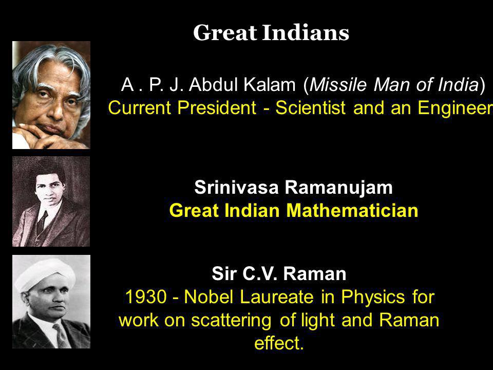 Great Indian Mathematician