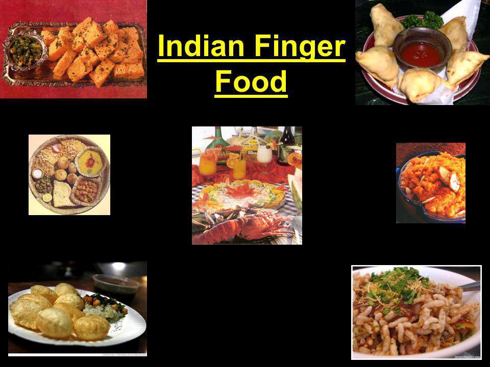 Indian Finger Food