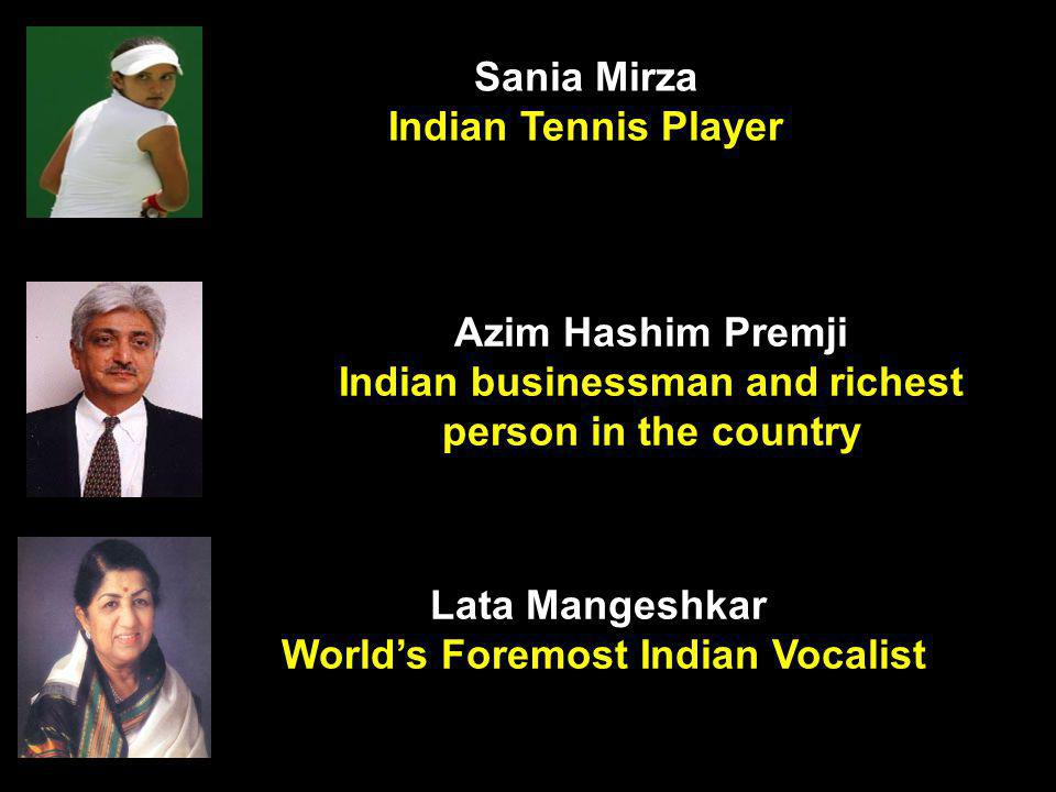 Indian businessman and richest person in the country
