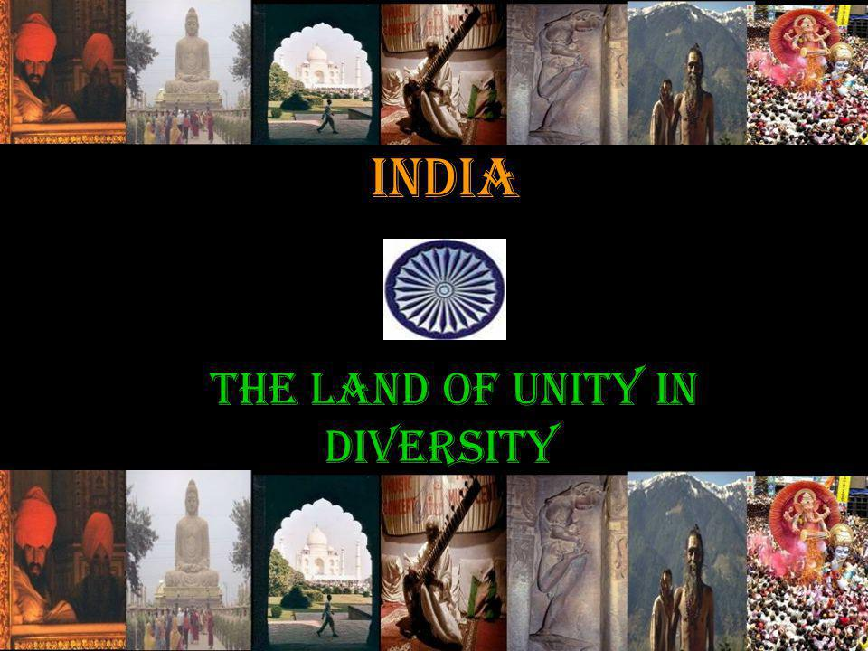 the land of unity in diversity