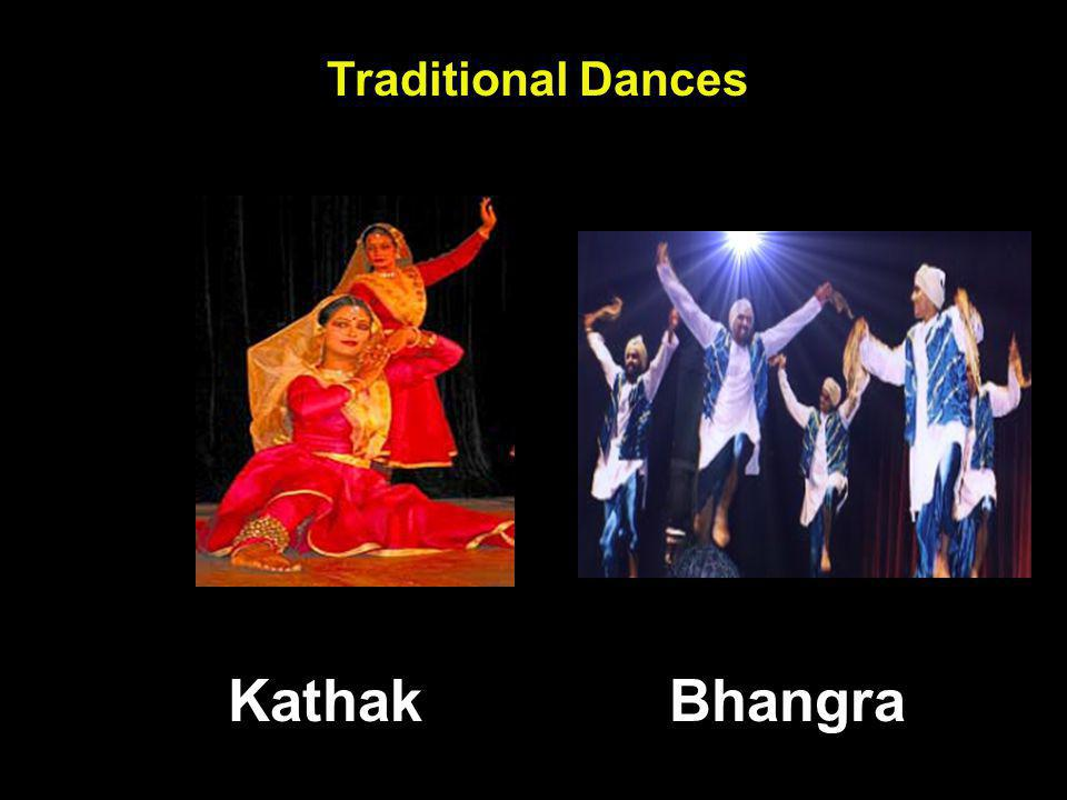 Traditional Dances Kathak Bhangra