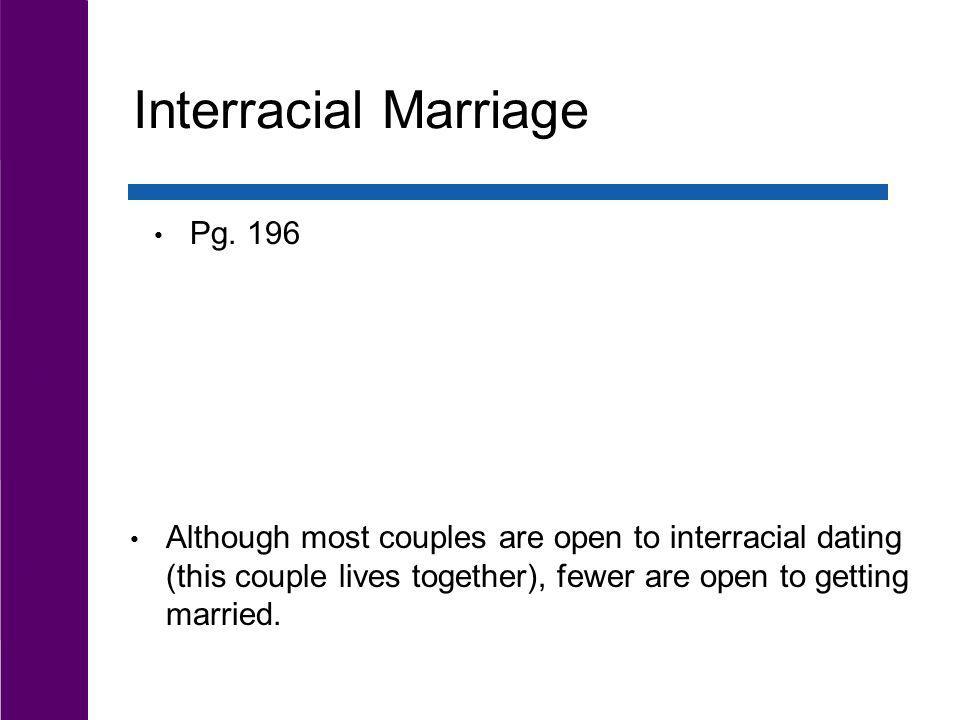 Interracial Marriage Pg. 196