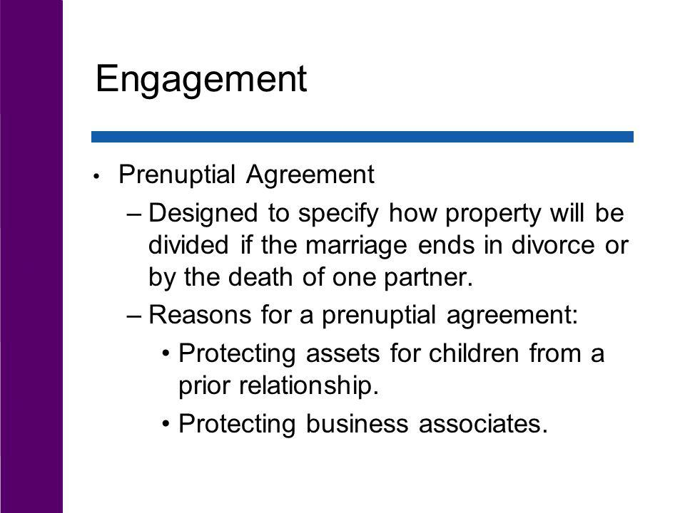 Engagement Prenuptial Agreement