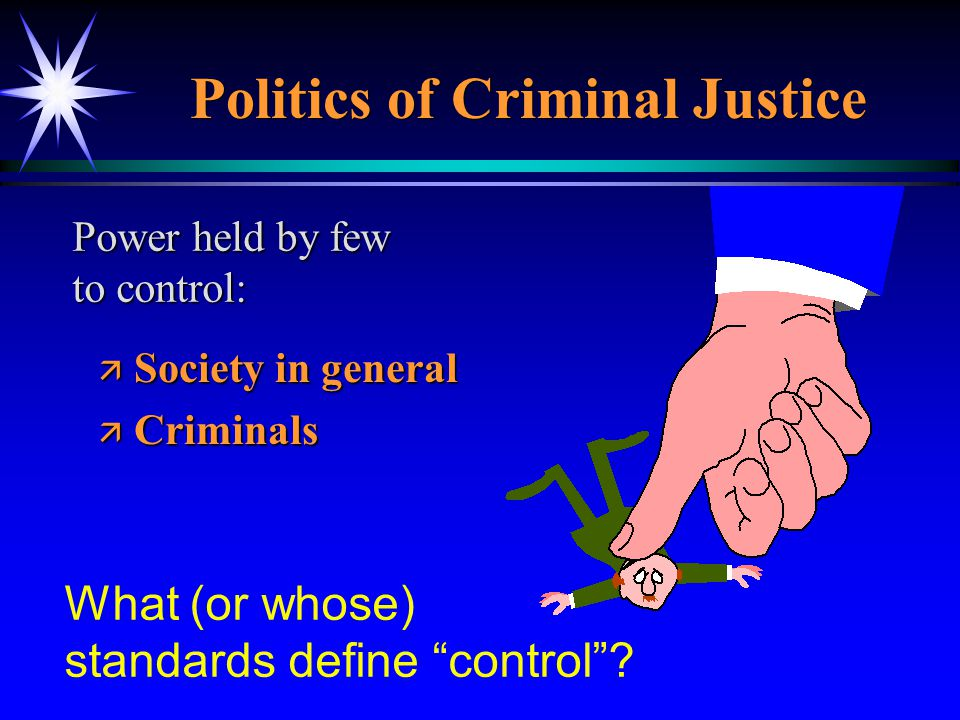 Politics of Criminal Justice