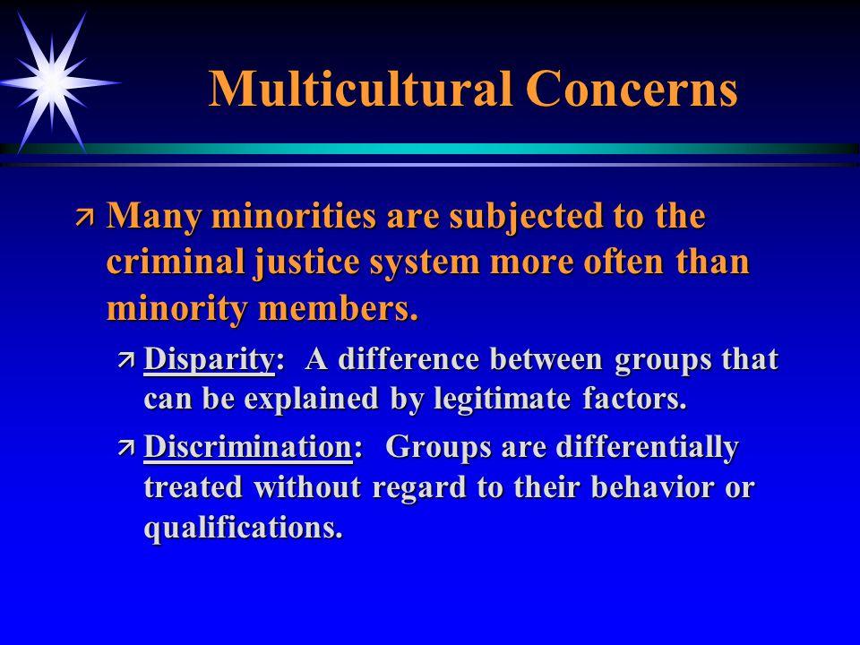 Multicultural Concerns