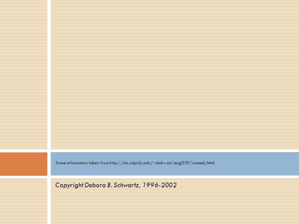 Copyright Debora B. Schwartz, 1996-2002