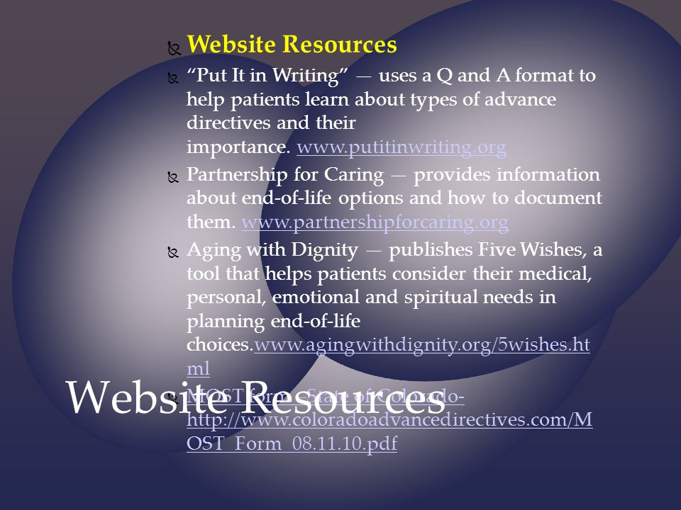 Website Resources Website Resources