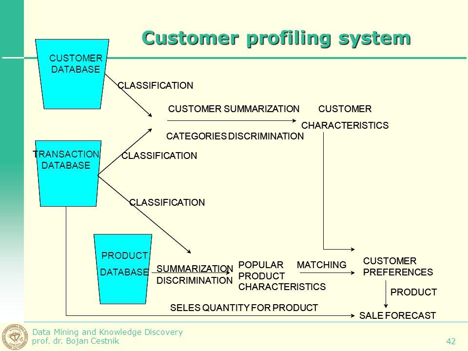 Customer profiling system