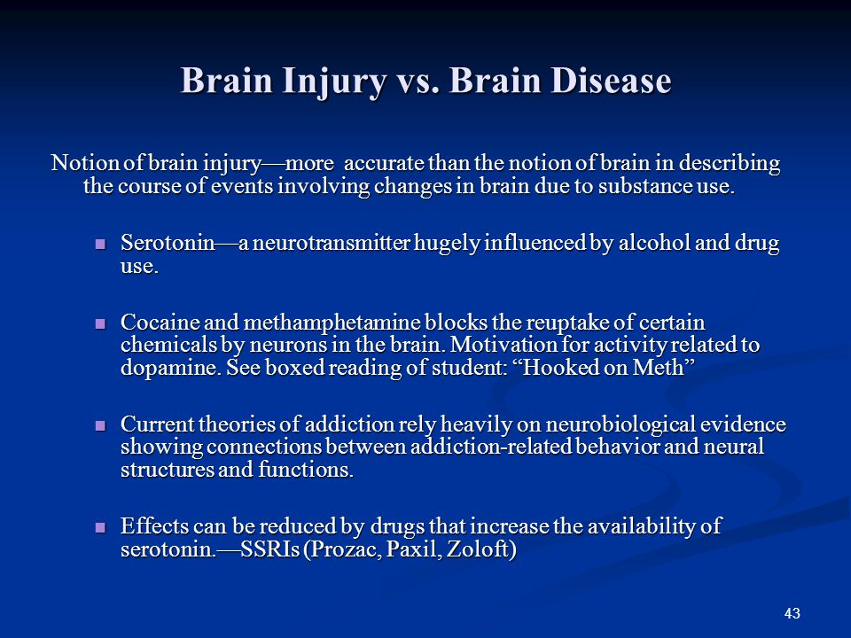 Brain Injury vs. Brain Disease