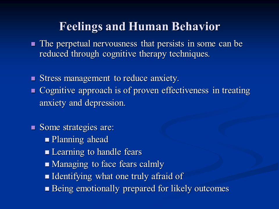 Feelings and Human Behavior