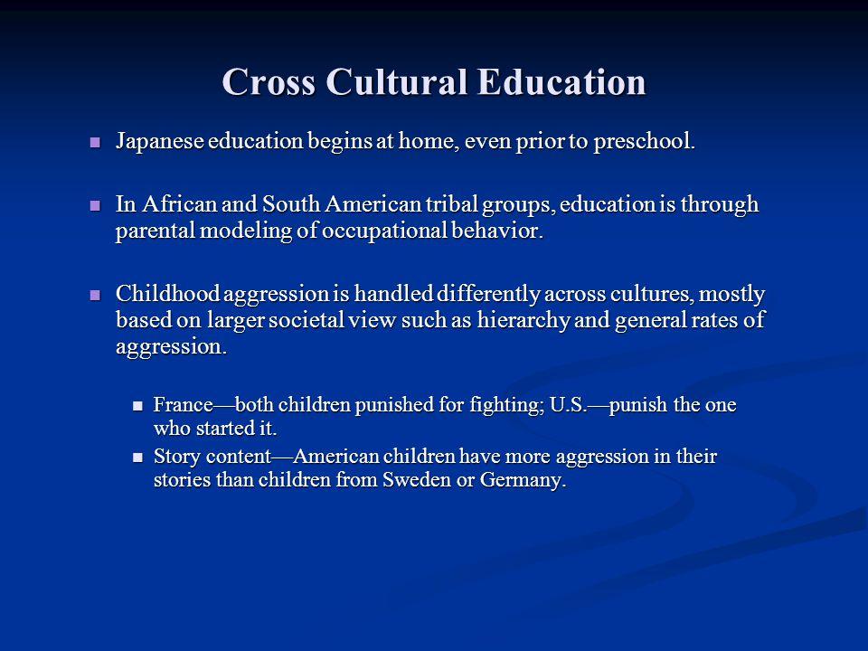 Cross Cultural Education