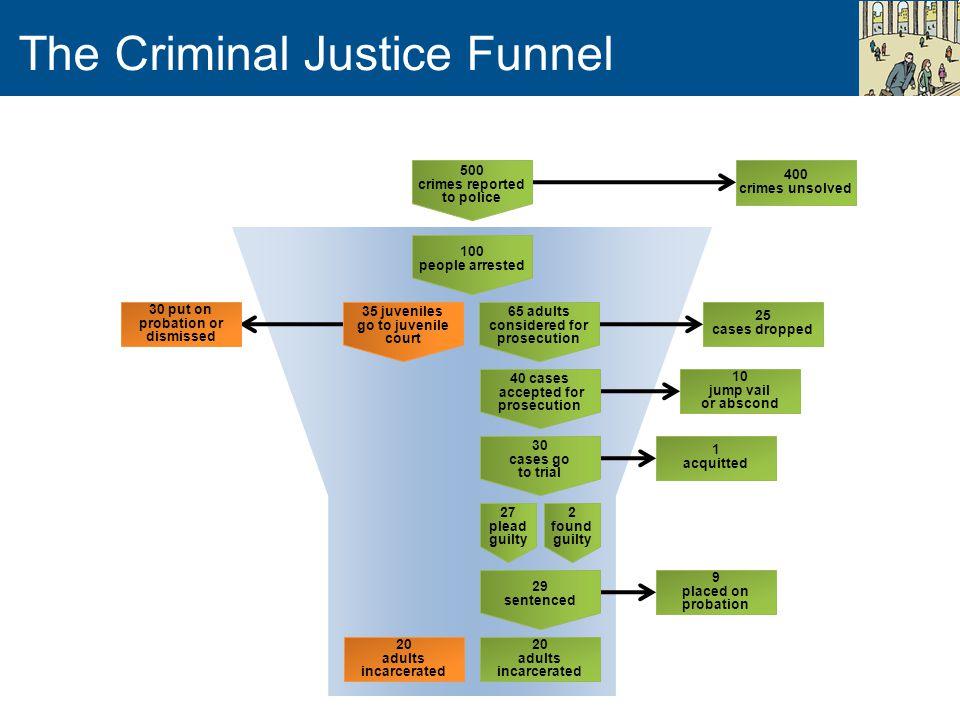 The Criminal Justice Funnel