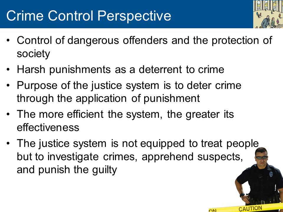 Crime Control Perspective