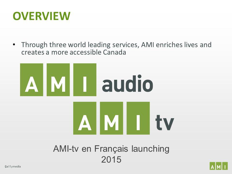 AMI-tv en Français launching 2015