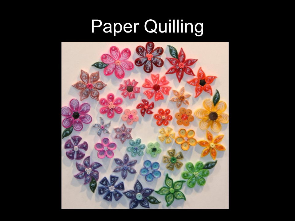 Paper Quilling