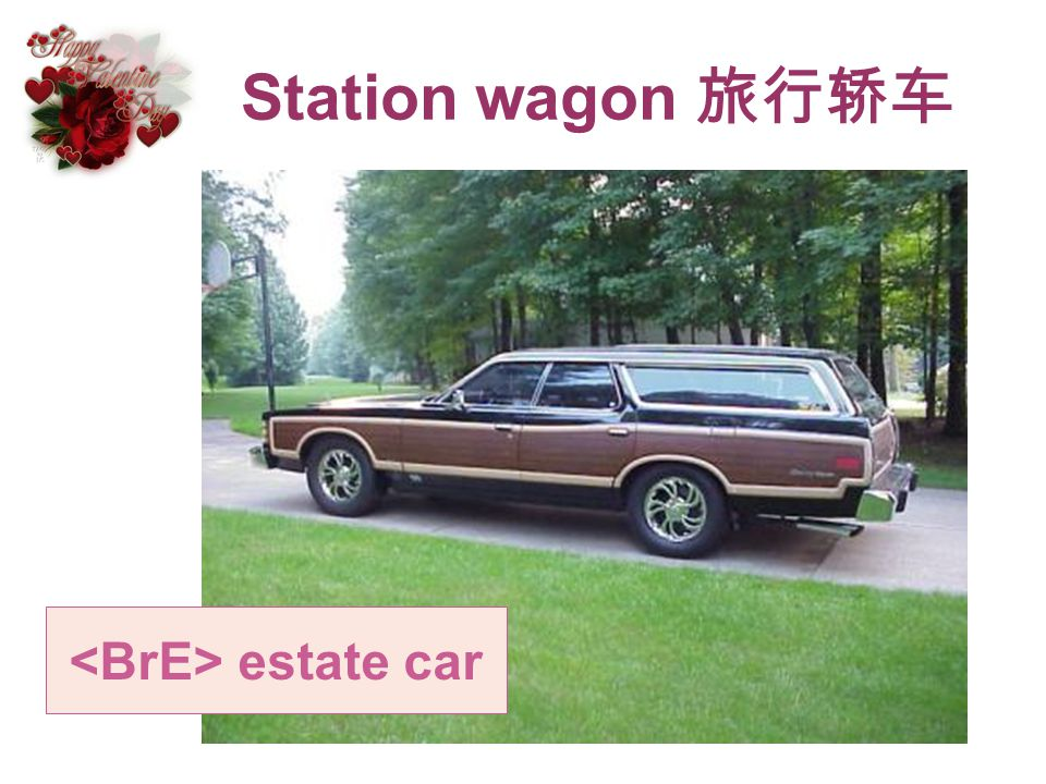<BrE> estate car