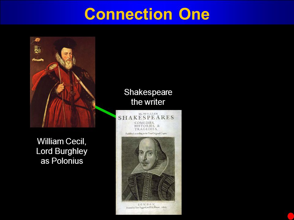 Connection One Shakespeare the writer