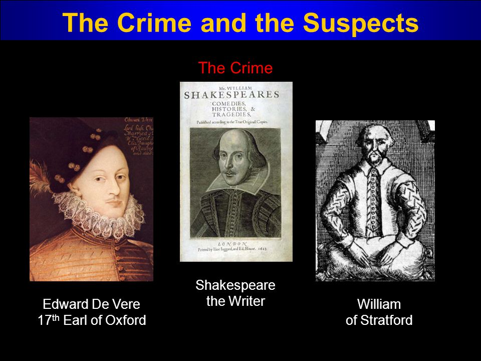 The Crime and the Suspects
