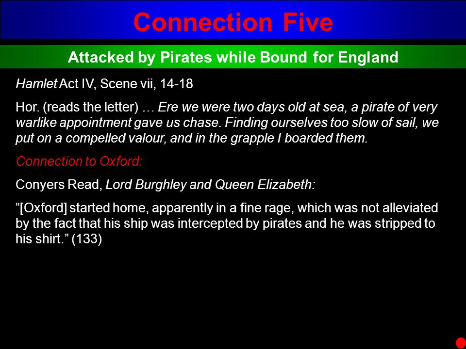 Attacked by Pirates while Bound for England