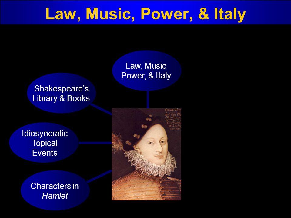 Law, Music, Power, & Italy Law, Music Power, & Italy