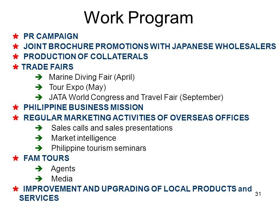 Work Program PR CAMPAIGN