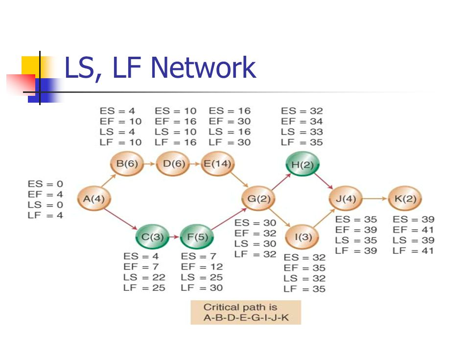LS, LF Network