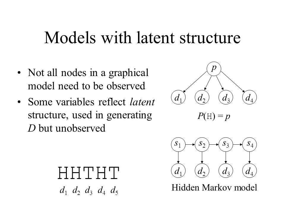 Models with latent structure