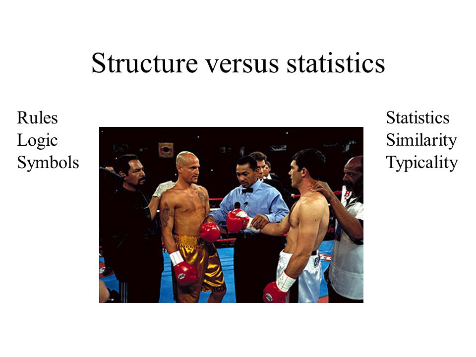 Structure versus statistics