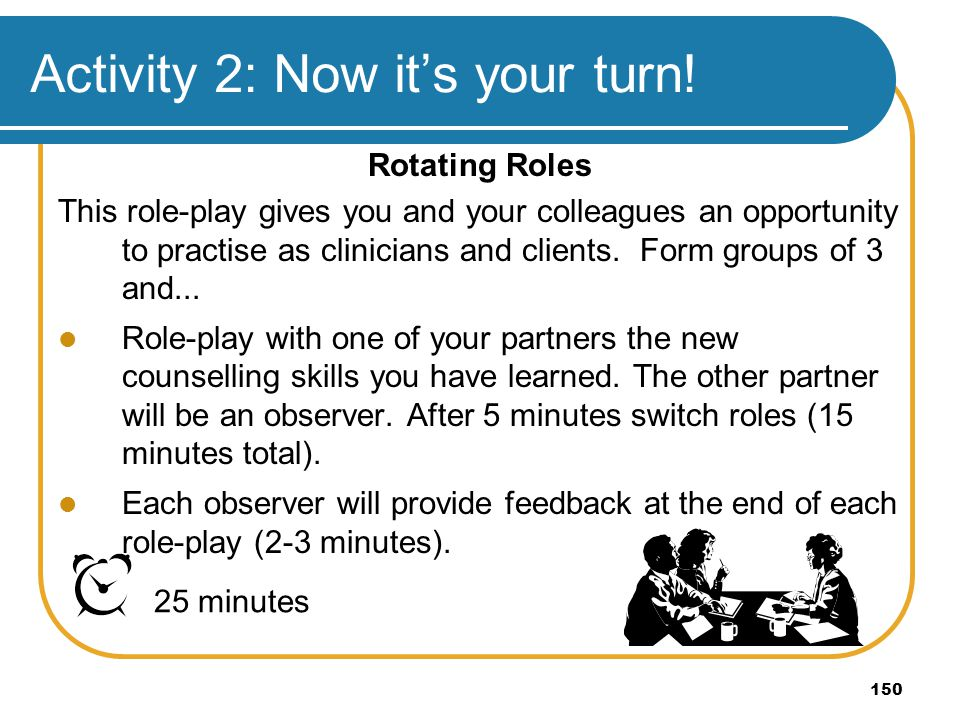 Activity 2: Now it's your turn!