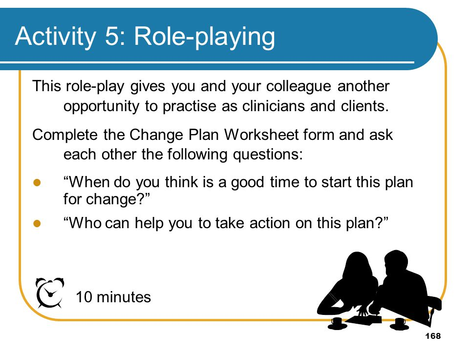 Activity 5: Role-playing