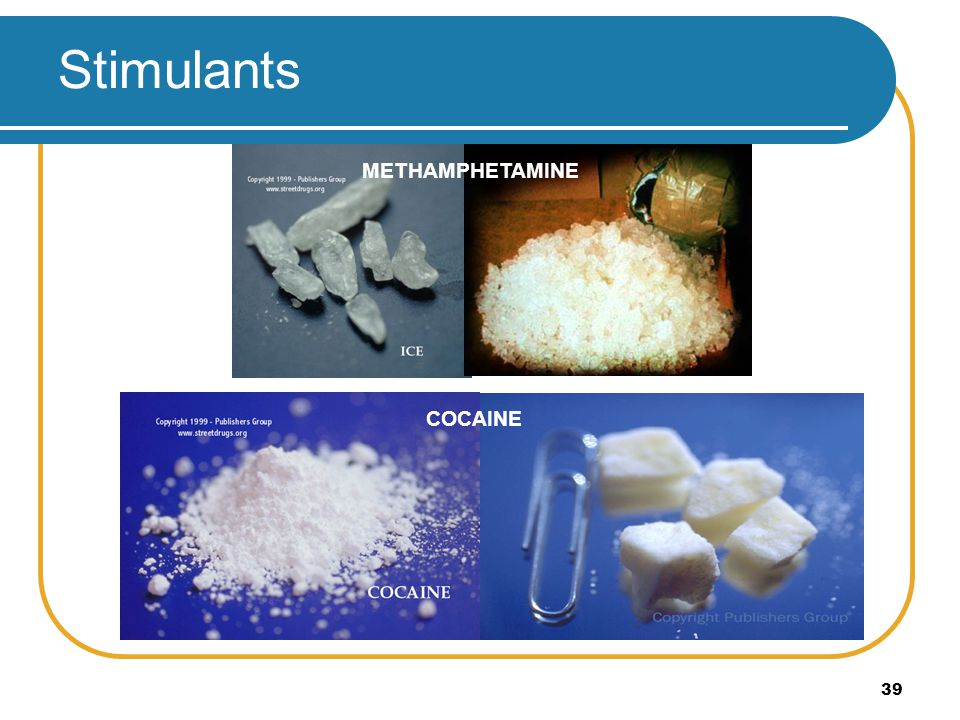 Stimulants METHAMPHETAMINE CRACK COCAINE