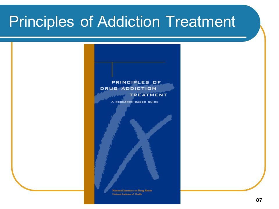 Principles of Addiction Treatment