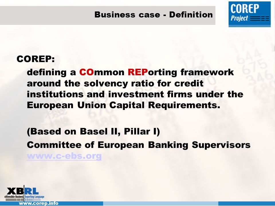Business case - Definition