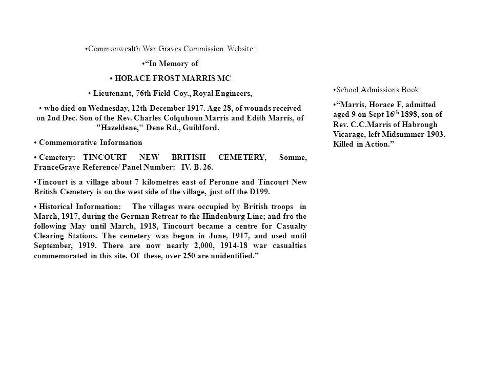 Lieutenant, 76th Field Coy., Royal Engineers,