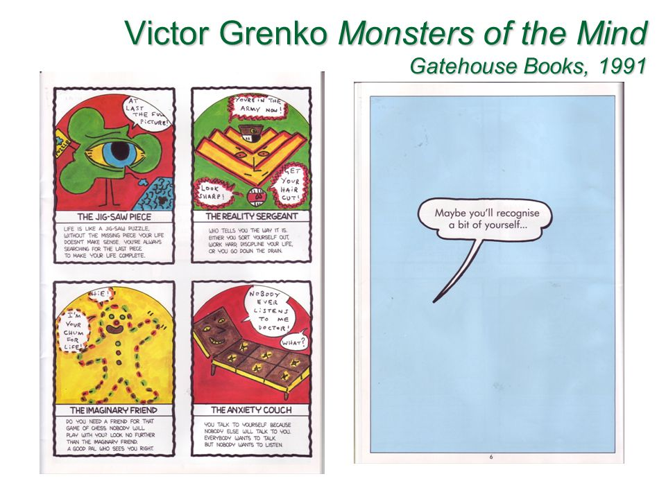 Victor Grenko Monsters of the Mind Gatehouse Books, 1991