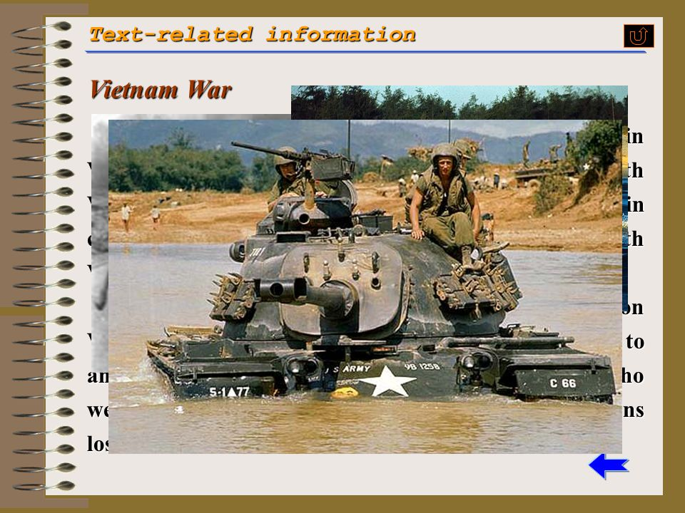 Vietnam War Text-related information