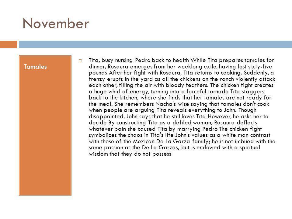 November Tamales.