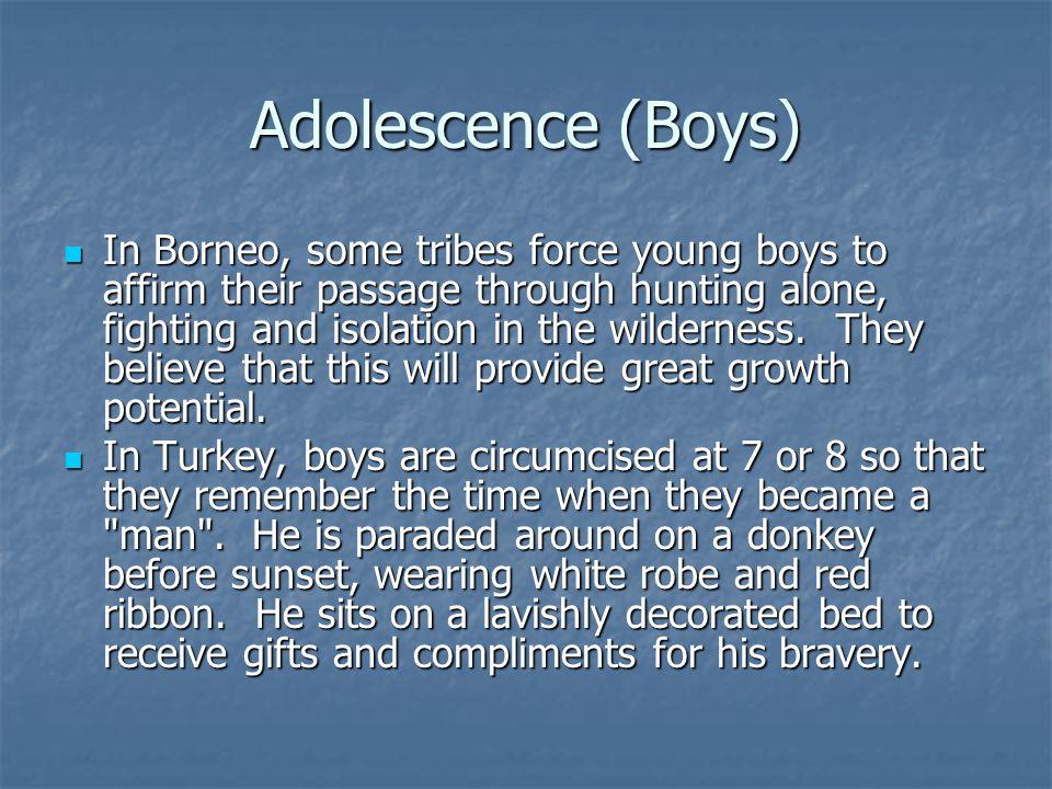 Adolescence (Boys)