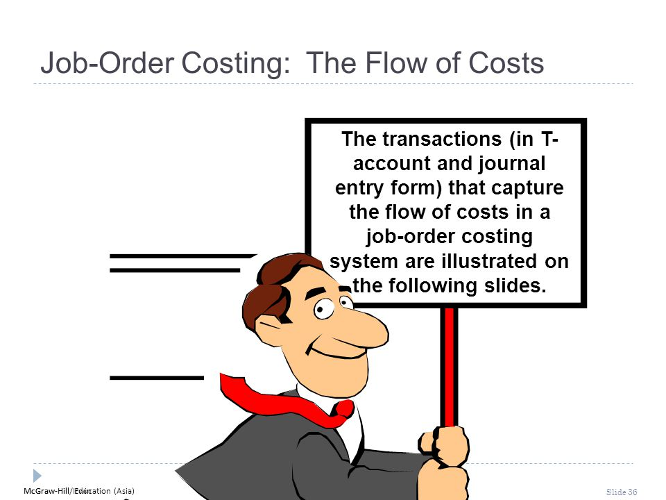 Job-Order Costing: The Flow of Costs