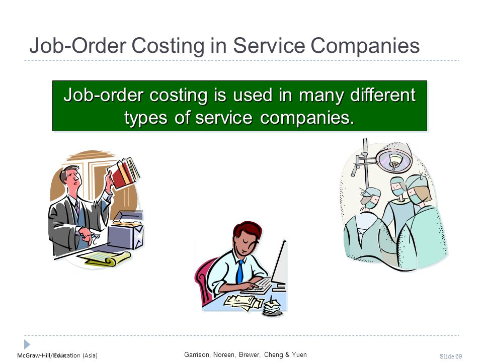 Job-Order Costing in Service Companies