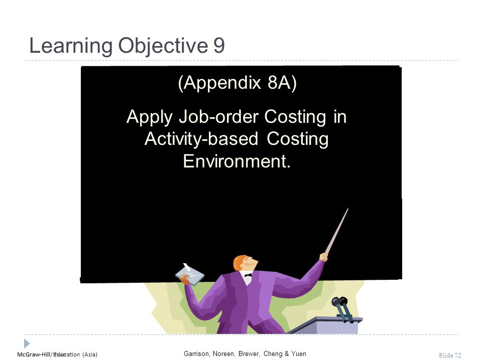 Apply Job-order Costing in Activity-based Costing Environment.