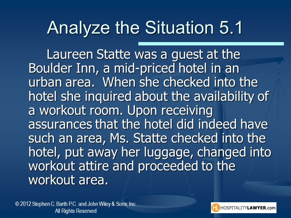 Analyze the Situation 5.1