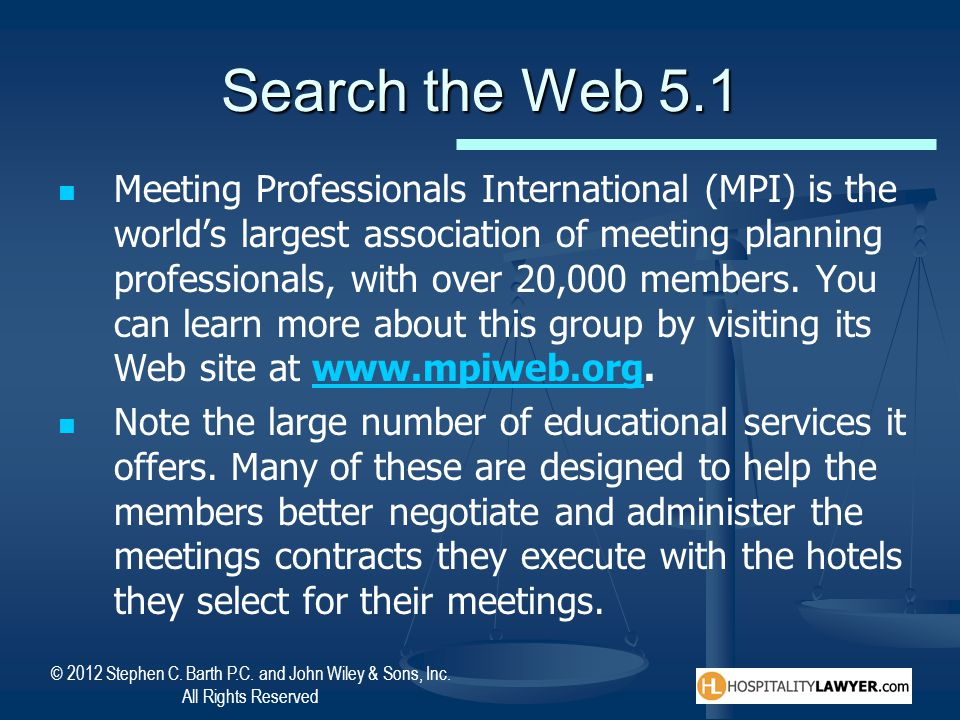Search the Web 5.1