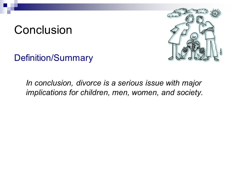 Conclusion Definition/Summary