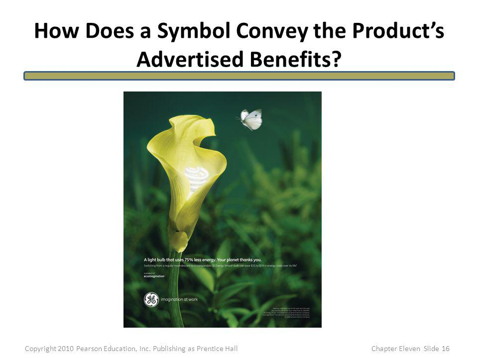 How Does a Symbol Convey the Product's Advertised Benefits