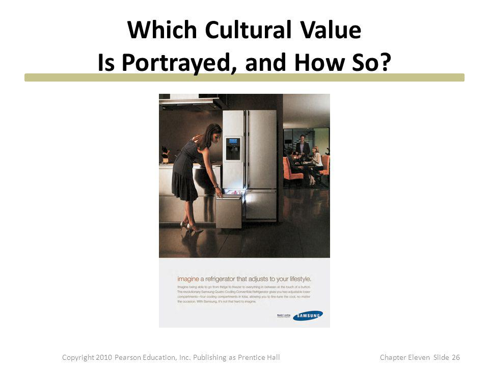 Which Cultural Value Is Portrayed, and How So